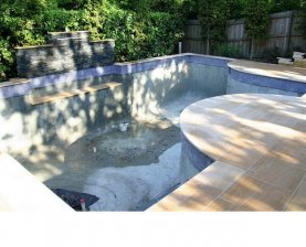 Pool interior renovation
